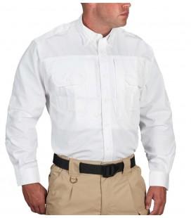 Camisa Propper Blanco Manga Larga